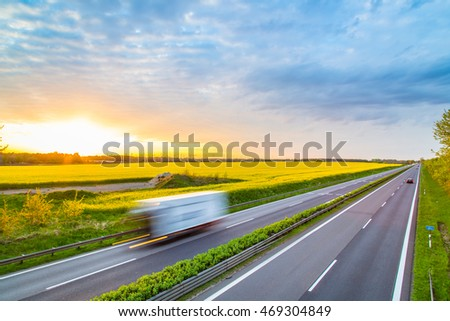 Autobahn - Germany #469304849