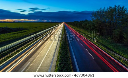 Autobahn - Germany #469304861