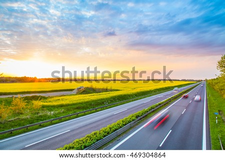 Autobahn - Germany #469304864