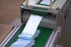 Automated factories work 24-hour shifts to produce surgical masks in response to the Coronavirus outbreak