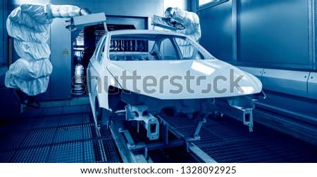 Automated production of automotive casings on automotive production lines #1328092925