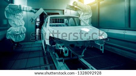 Automated production of automotive casings on automotive production lines #1328092928