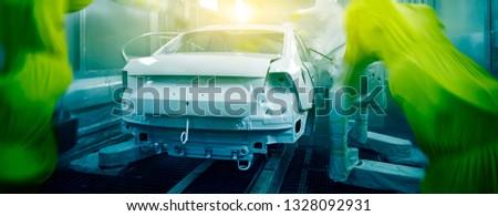 Automated production of automotive casings on automotive production lines #1328092931