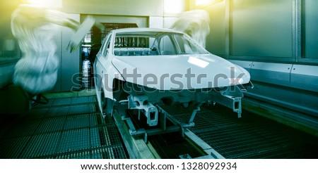Automated production of automotive casings on automotive production lines #1328092934
