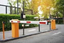 Automatic Barrier Gate , Security system for building and car entrance vehicle barrier