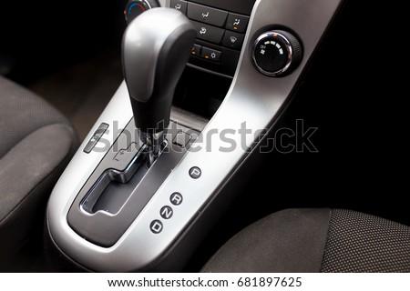 automatic gear stick inside...