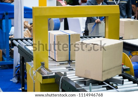 Automatic packing machine with plastic bag and paper box, high speed packing machine for food product industrial,