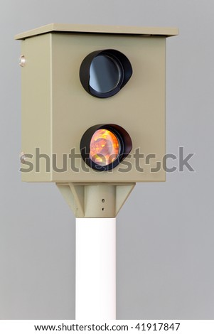 automatic speed check camera