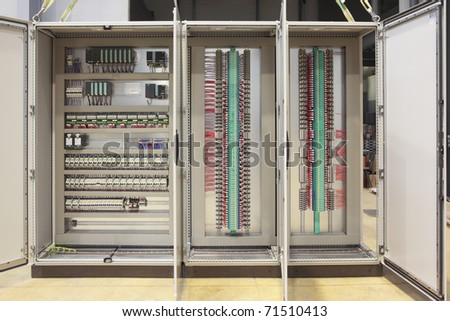 Automation atex safety regulation panel board
