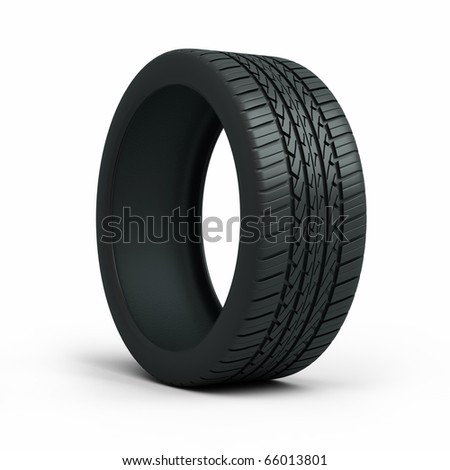 Automobile tires (clipping path)