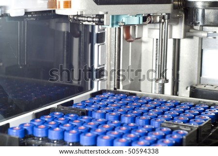 autosampler of High Pressure Liquid Chromatography (HPLC)