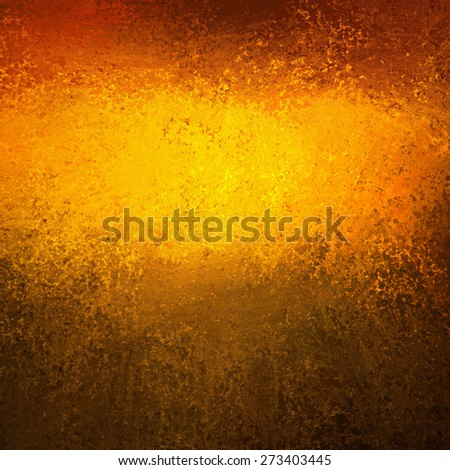 Autumn background. Gold orange background. Bright luxury shiny gold color splash with texture layout for web design.