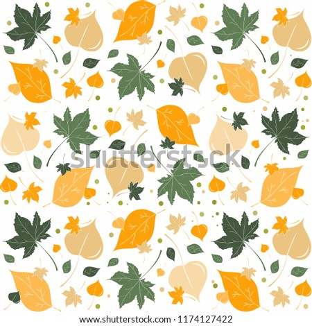 autumn defoliation pattern