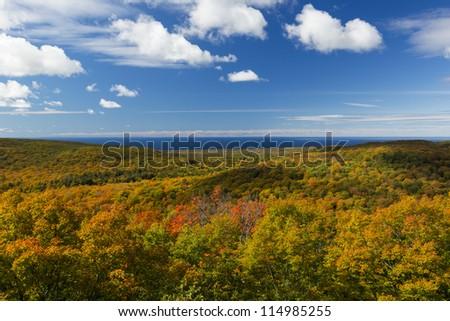 Autumn Hills & Lake Superior Scenic