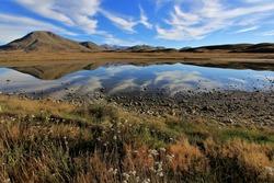 Autumn in Ashburton New Zealand, Lake Clearwater area