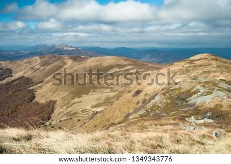 autumn in polish mountain #1349343776