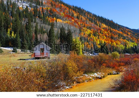 Autumn in San Juan mountains #227117431