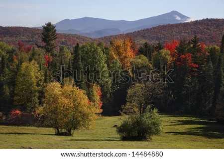 Autumn In The Adirondack Mountains, New York State