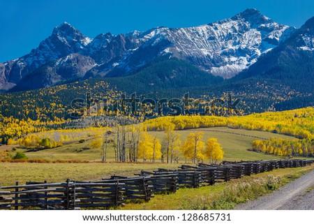 Autumn in the San Juan Mountains, Colorado