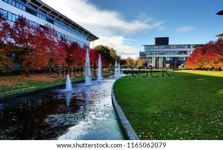 Autumn in University of Warwick