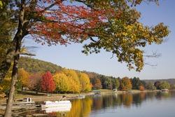 Autumn in Wisp, Maryland at Deep Creek Lake