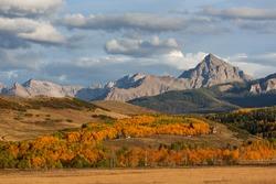 Autumn landscape, Colorado, the USA