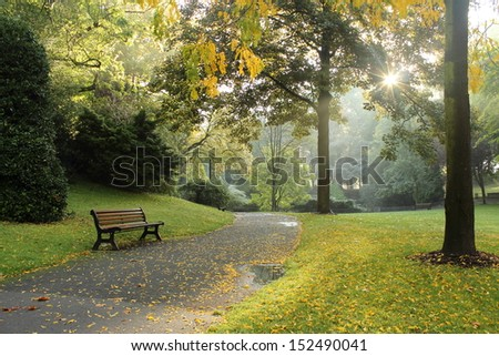 Autumn morning #152490041
