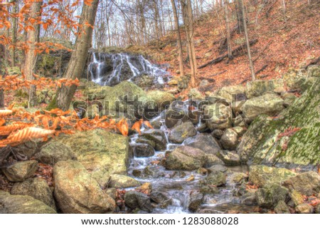 Autumn New Jersey Waterfall