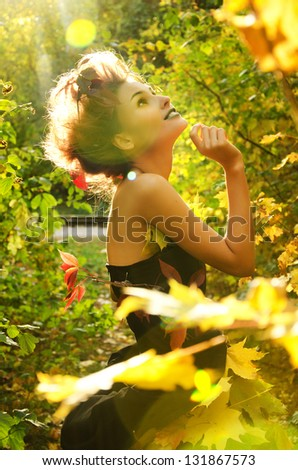 Autumn nymph
