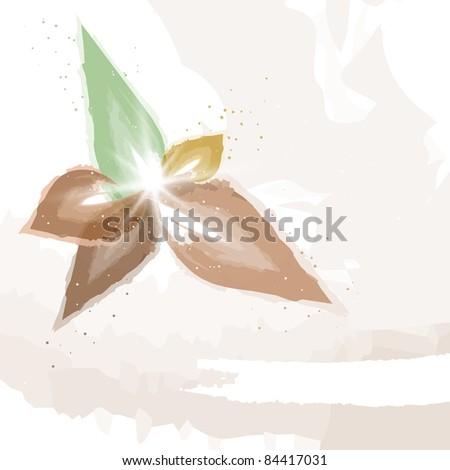 Autumn painting | Background. Vector version available in my gallery.