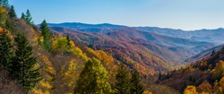 Autumn Scenics in the Great Smoky Mountains National Park