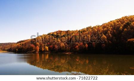 Autumn, Stonecoal Lake Wildlife Management Area, West Virginia, USA