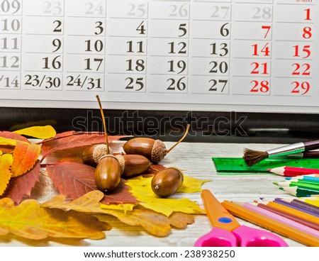 Autumn theme and creativity
