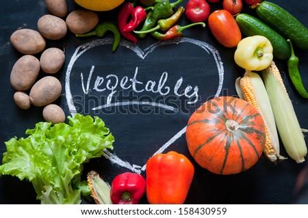 autumn vegetables #158430959