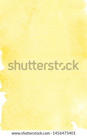 autumn watercolor orange background painted with colors on white paper, perfect for Halloween #1456473401