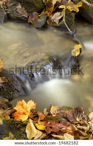 Autumn Waterfall, Great Smoky Mountains National Park
