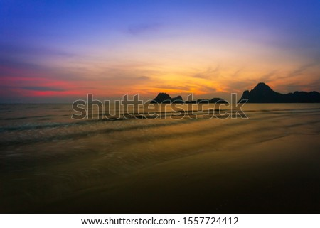 Autumn with seascape,View of the seascape #1557724412