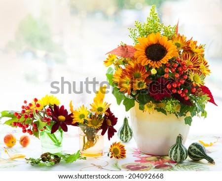 Autumnal flowers #204092668