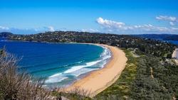 Avalon Beach in Sydney, Australia