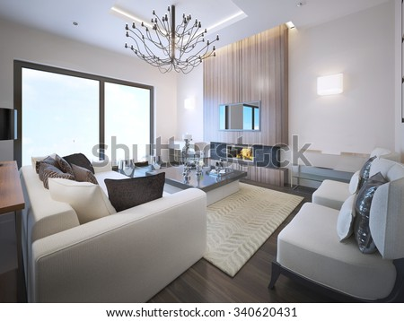 avant garde living room trend high ceiling with neon lights fireplace wood frame ceiling avant garde