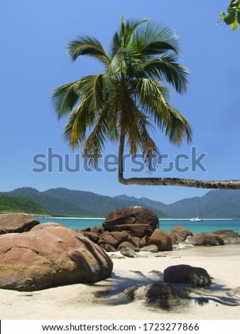 Aventureiro Beach, Ilha Grande (Big Island) - Angra dos Reis, Rio de Janeiro, Brazil  Stockfoto ©