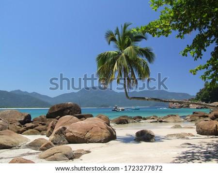 Aventureiro Beach, Ilha Grande (Big Island) - Angra dos Reis, Rio de Janeiro, Brazil  Foto stock ©
