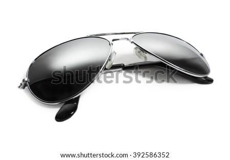Aviator sunglasses. isolated on white
