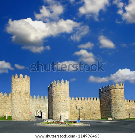 Avila, Castile and Leon, Spain, World Heritage Site by UNESCO