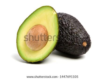 Avocado on a white background Foto stock ©