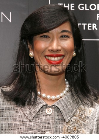 Avon Products chairman and CEO Andrea Jung attends a reception following the Global Summit For A Better Tomorrow at the United Nations on March 7, 2007 in New York City.