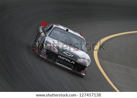 AVONDALE, AZ - OCT 4: Kevin Harvick (29) takes laps during a NASCAR Sprint Cup track testing session on Oct. 4, 2011 at Phoenix International Raceway in Avondale, AZ.