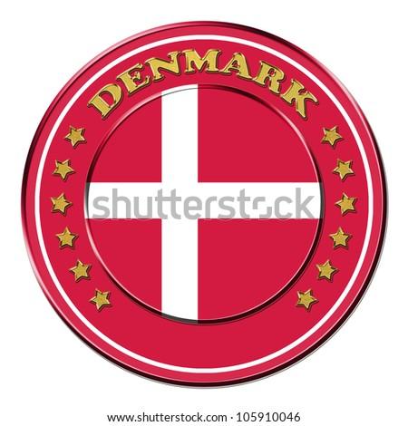 Award with the symbols of Denmark
