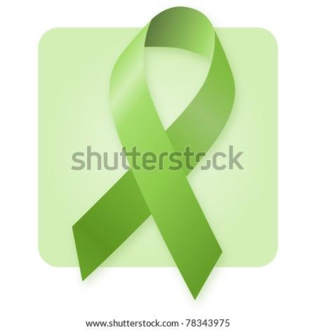 Awareness Ribbon - Environmental protection