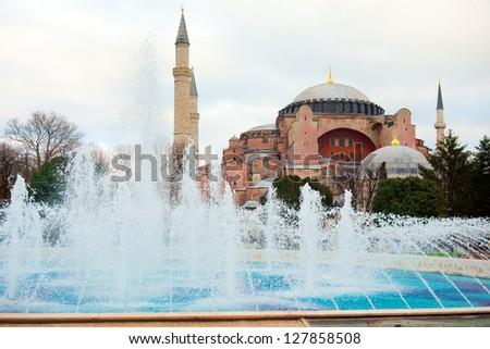 Aya Sofia, Istanbul, Turkey